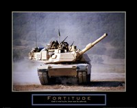 Framed Fortitude - Tank On The Move