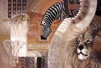 Framed African Colors