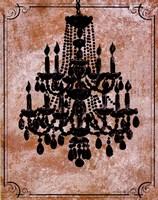 Framed Chandelier II