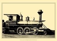 Framed Locomotive II