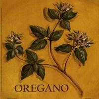 Framed Oregano