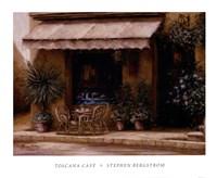 Framed Toscana Cafe
