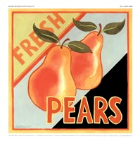 Framed Fresh Produce IV