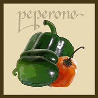 Framed Italian Vegetable IV
