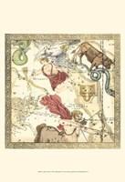 Framed Zodiac Chart II