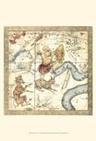 Framed Zodiac Chart IV