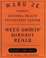 Framed Weed Smokin' Burnout