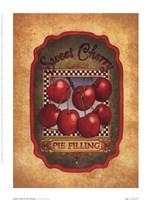 Framed Sweet Cherry Pie Filling