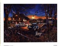 Framed Aaron B. Faulkner - The General Store