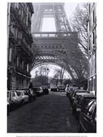 "Framed Street View of ""La Tour Eiffel"""
