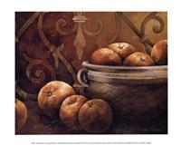Framed Tuscan Orange