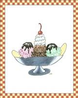 Framed Ice Cream Parlor IV