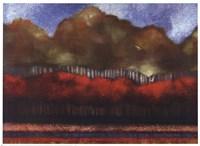 Framed Fallen Sky III