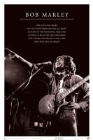 Framed Bob Marley - One Love