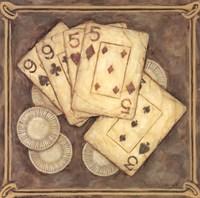 Framed Poker - Nines and Fives