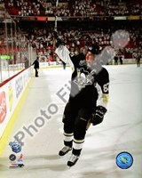 Framed Sidney Crosby 1st Star of the Game, Game 3 of the 2008 NHL Stanley Cup Finals; #9
