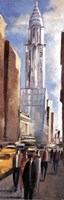 Framed Empire State Building - street view