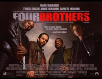 Framed Four Brothers - they came home to bury their mother