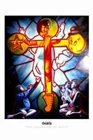Framed Ascension of Elvis