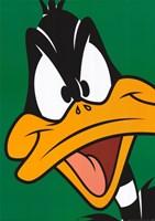 Framed Daffy Duck