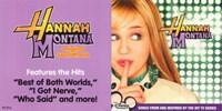 Framed Hannah Montana - soundtrack - style B
