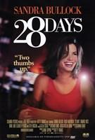 Framed 28 Days poster