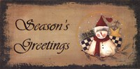 Framed Season's Greetings
