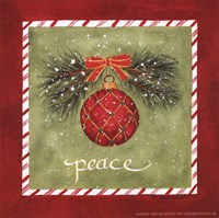 Framed Holiday Peace