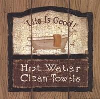 Framed Hot Water