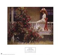 Framed Philip leslie Hale - The Crimson Rambler