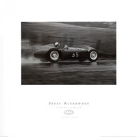 Framed Grand Prix of Belgium, 1955