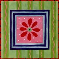 Framed Flower Power III