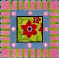 Framed Flower Power IV