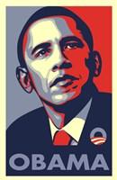 Framed RARE Obama Campaign Poster - OBAMA