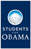 Framed Barack Obama - (Students for Obama) Campaign Poster