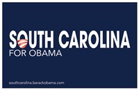 Framed Barack Obama - (South Carolina for Obama) Campaign Poster