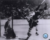 Framed Bobby Orr 1970 Action