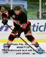 Framed Patrick Kane 2008-09 NHL Winter Classic Action
