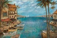 Framed Mediterranean Splendor