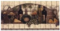 Framed Wine, Fruit, 'N Cheese Pantry