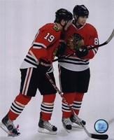 Framed J.Toews / P.Kane - 2009 Playoffs