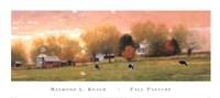Framed Fall Pasture