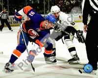 Framed John Tavares & Sidney Crosby 2009-10 Action