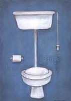 Framed Toilet
