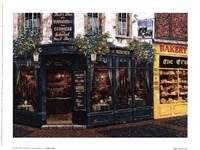 Framed London Pub