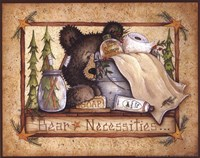 Framed Bear Necessities