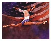 Framed Olympic Gymnast