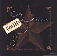 Framed Faith Star