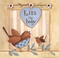 Framed Kiss the Baby