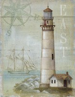 Framed East Coastal Light